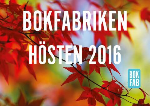 Höstens titlar från Bokfabriken