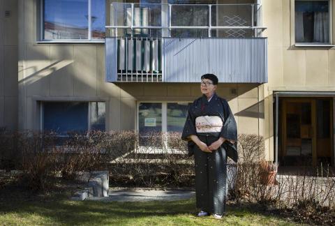 Göra japan i Sverige, möt Maria Mars i sitt eget terum hemma i Fruängen.