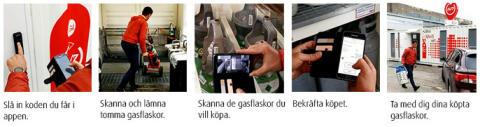 AGAs nya självservicekoncept Gas 24/7