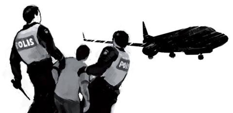 Måndag 9 april: Rättsosäkra tvångsdeporteringar av åldersuppskrivna tonåringar