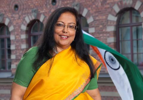 Banashri Bose Harrison, Indian ambassador in Sweden