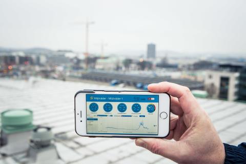 Pris till projekt inom digital miljöövervakning