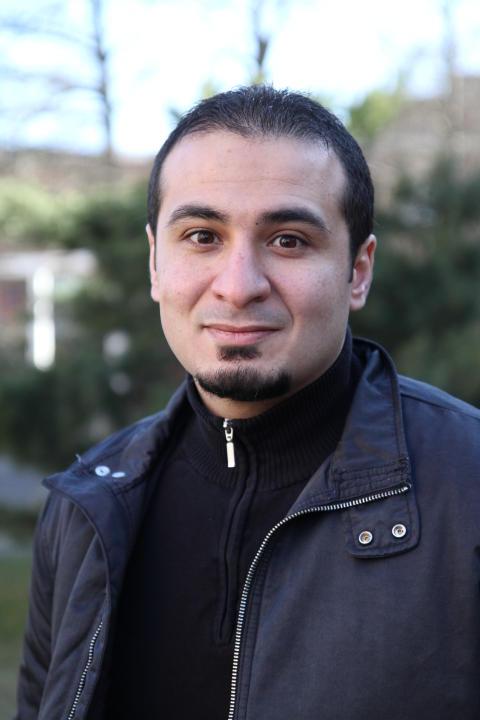 Forskaren Ali Elshaari (Foto: Christer Gummeson)