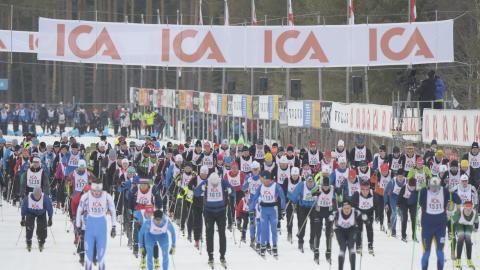 Kortvasan 2016-02-26 startade Vasaloppets vintervecka 2016
