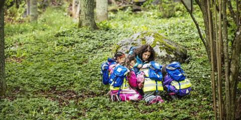 Skogshjältarna ger lärare nyckeln till skogen