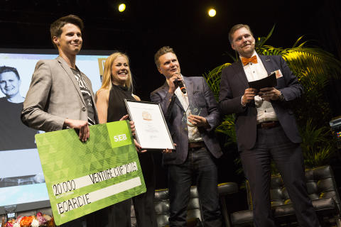 Boardies ankarlift prisad i Venture Cups Sverigefinal
