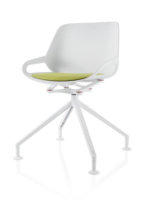 Die fünf Farb- und vier Gestellvarianten ermöglichen individuelle Gestaltungs-möglichkeiten. (Foto: aeris GmbH/Thomas Koller)