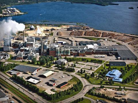Smurfit Kappa i Piteå hyr komplett kommunikationssystem av Celab för att utveckla säkerheten på anläggningen.