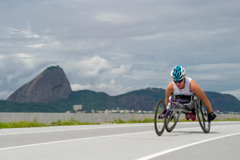 ParalympicsGB Allianz ambassadors blogs - Hannah Cockroft