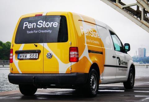Airmee gillar nytänkare och är väldigt glada över att presentera en av våra nya kunder – Pen Store!
