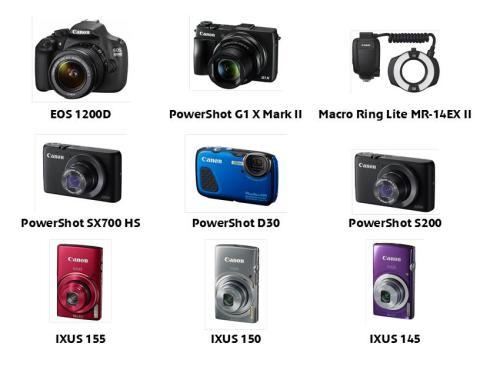 Nye kameraer og tilbehør fra Canon gir alle mulighet til å ta neste steg