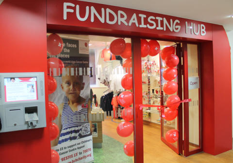 New Interactive Fundraising Hub launched at Birmingham Children's Hospital