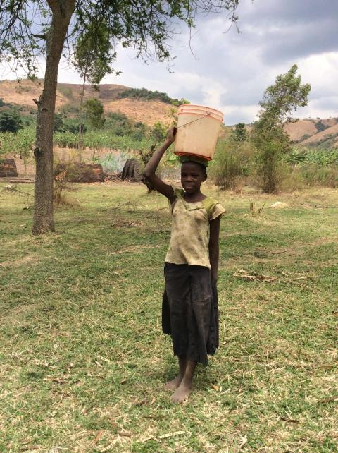 Ett steg närmare rent vatten i Tanzania