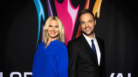 De är de nya programledarna i Melodifestivalen
