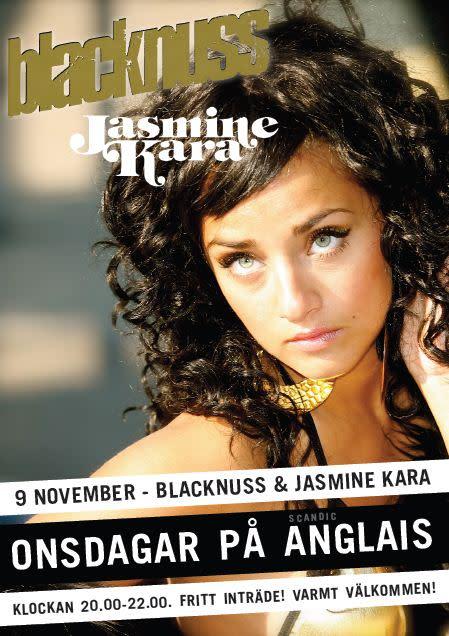 Blacknuss och Jasmine Kara till Scandic Anglais