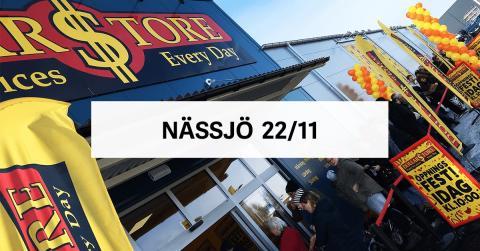 Öppningsfest DollarStore Nässjö
