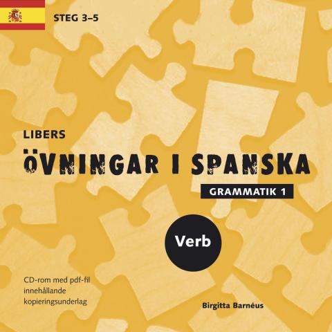 Libers övningar i spanska: verb Steg 3-5