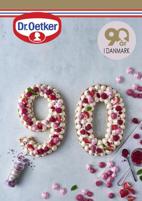 Dr. Oetker 90 år i Danmark