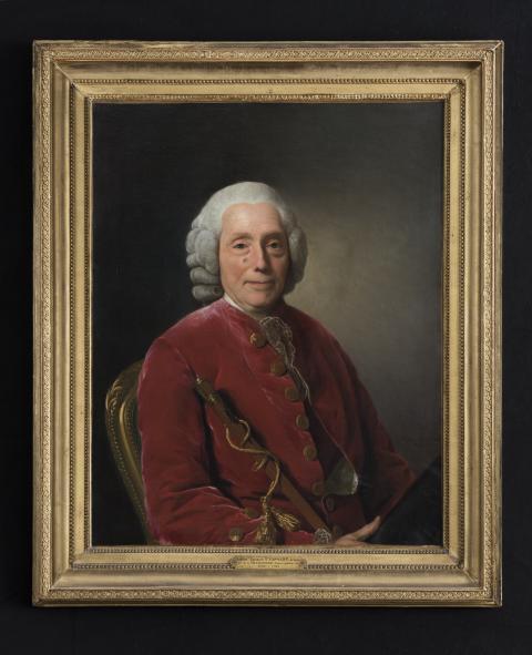 Grand Antiques, Galerie Donner, porträtt Alexander Roslin.