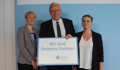 """Mitarbeitende des Bundesministeriums für Familie, Senioren, Frauen und Jugend werden """"Demenz Partner"""""""