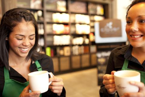 Pressinbjudan till öppningen av Starbucks i MOOD Stockholm