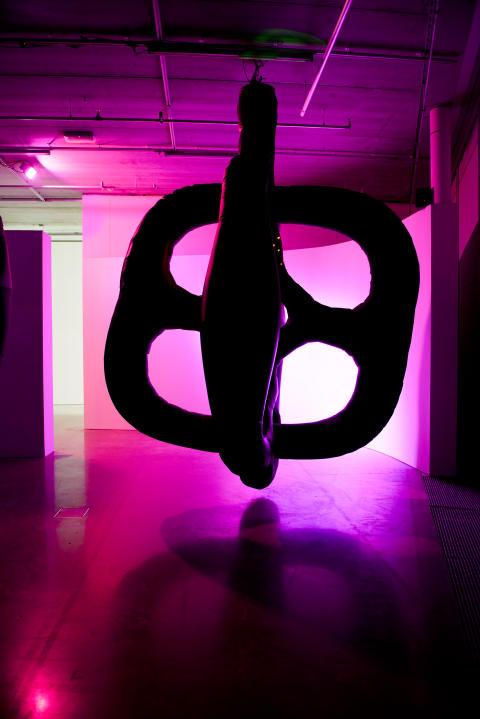 The Nervous Manifold, 2012, Matti Kallioinen. Foto: Olle Kirchmeier/Bonniers Konsthall.