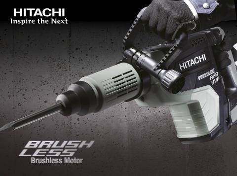 NYHET! Hitachi meiselhammer H60MEY med kraftig børsteløs motor og antivibrasjonsteknologi