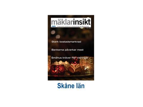 Mäklarinsikt Skåne 2013:4