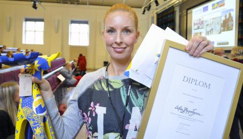 Årets sociala entreprenör i Sverige är Sofia Appelgren