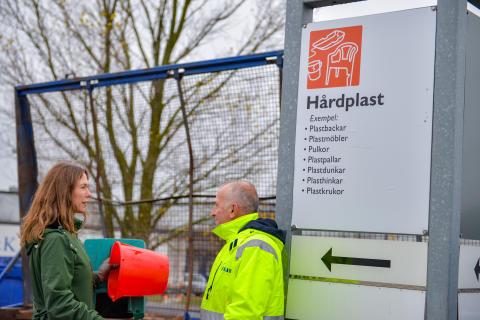 Sysav satsar på utökad insamling och återvinning av plast