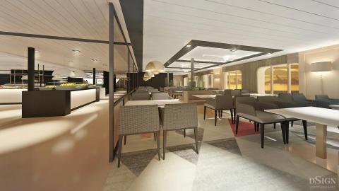 Tallink Silja Megastar  Chefs Kitchen