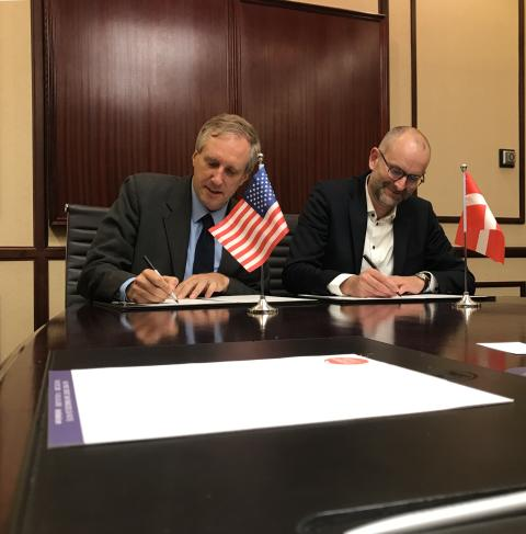 New energy partnership between California and Denmark to go greener together