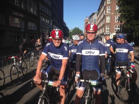 Team Hope at Cyclassics 2016