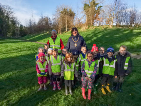 Forest School adventures begin in Mid and East Antrim