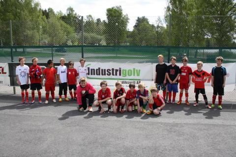 Silikal® GmbH och Industrigolv Hudiksvall AB - partners som stöttar unikt samarbete inom breddfotbollen