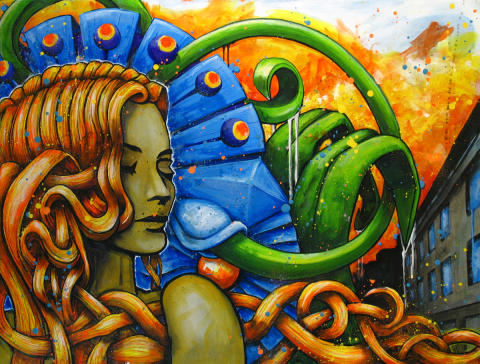 GRAFFITI utställning med JOHAN WATTBERG