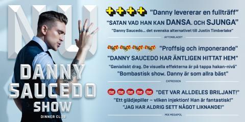 Succé och biljettrusning till Danny Saucedos show på Hamburger Börs! Nu släpps extraföreställningar