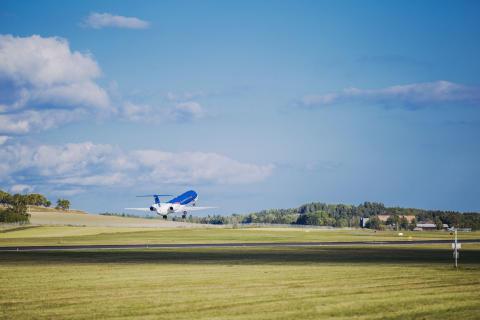 Ökat samarbete med bmi regional/Lufthansa på Norrköping flygplats