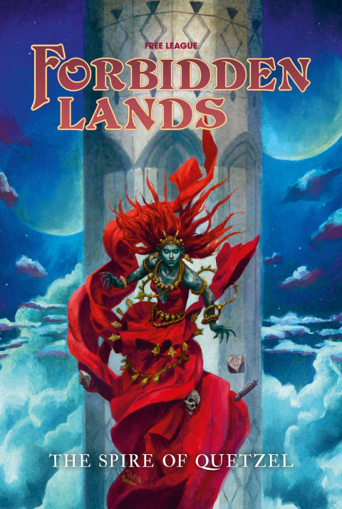 A Dreaming Demon Queen Awaits You - Forbidden Lands: The Spire of Quetzel has Released