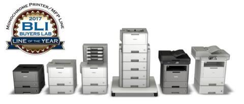 La série d'imprimantes mono laser de Brother entraîne une augmentation des ventes