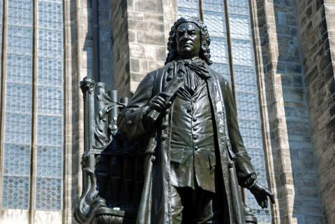 Bachfest Leipzig - Bach-Denkmal vor der Thomaskirche