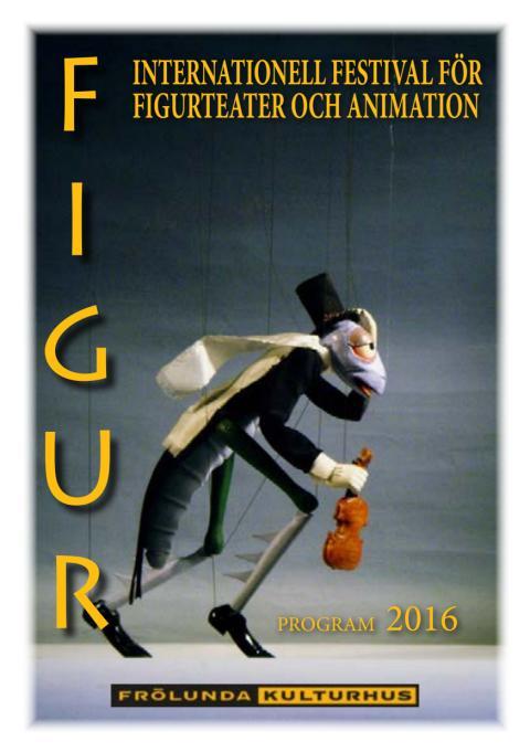 FIGUR - Internationell festival för  figurteater och animation 2016, detaljerad program