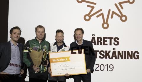 Årets Eventskåning 2019 till FK Göingarna