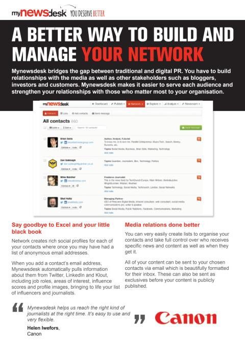 A better way to build and manage your networks