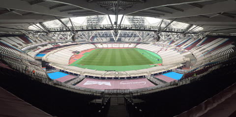 Olympic work by Lesjöfors manufacturer for West Ham's new stadium