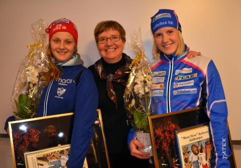 Mora-Nisses stipendium till Julia Jansson och Stina Nilsson