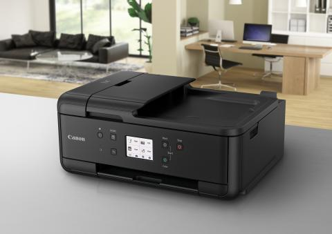 PIXMA Home Office: Canon lanserer nye 4-i-1-skrivere: PIXMA TR7550 og PIXMA TR8550