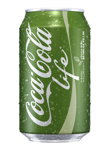 Coca-Cola life® lanseras i Sverige