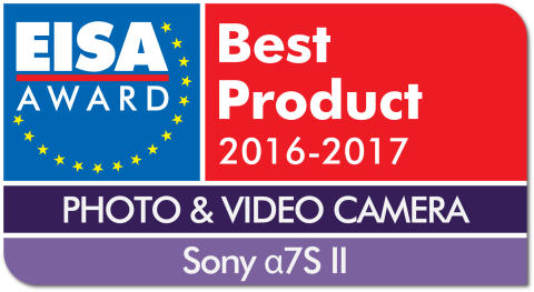 EUROPEAN PHOTO & VIDEO CAMERA 2016-2017 - Sony 7S II drop shadow