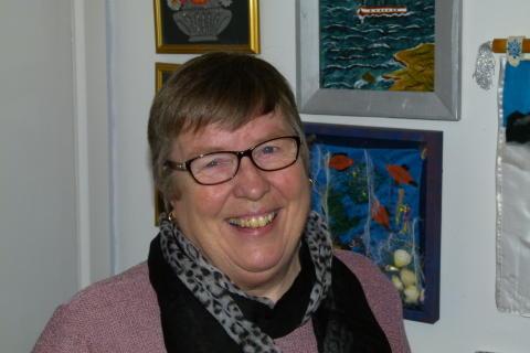 Författarporträtt: Kari Rosvall (Barnet från ingenstans)
